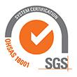 SGS OHSAS 18001 TCL HR